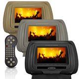 Dvd-Player-Tela-Encosto-de-Cabeca-7-Polegadas-Lcd-com-Game-Preto