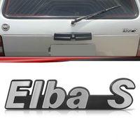 Emblema-Tampa-Porta-Malas-Elba-S-1989-1990-1991-1992-Prata-Fundo-Preto