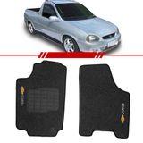 Tapete-Carpete-Personalizado-Grafite-Pick-Up-Corsa-1994-1995-1996-1997-1998-1999-2000-2001-2002-Logo-Chevrolet-Bordado-2-Lados-Dianteiro