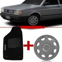 Combo-Gol-Quadrado-1991-1992-1993-1994-1995-Tapete-Carpete-Preto-Logo-Bordado-2-Lados-Dianteiro---Jogo-Calota-Aro-13-Aro-de-Pressao