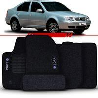 Tapete-Carpete-Grafite-Bora-1999-2000-2001-2002-2003-2004-2005-2006-2007-Logo-Bordado-Volkswagen-2-Lados-Dianteiro
