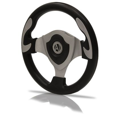 Volante-Esportivo-Black-Widow-Prata-320mm