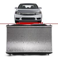 Radiador-Civic-1.8-16v-2006-2007-2008-2009-com-Ar-Condicionado-com-e-sem-Transmissao-Automatica