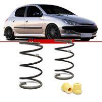 Par-Molas-Dianteira-Esportiva-Peugeot-206-2001-2002-2003-2004-2005-2006-2007-2008-2009-2010-207-Hatch-Sw-1.0-1.4-com-e-sem-Ar-Condicionado