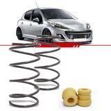 Par-Molas-Dianteira-Esportiva-Peugeot-206-2001-2002-2003-2004-2005-2006-2007-2008-2009-2010-207-Hatch-Sw-1.6-com-Ar-Condicionado