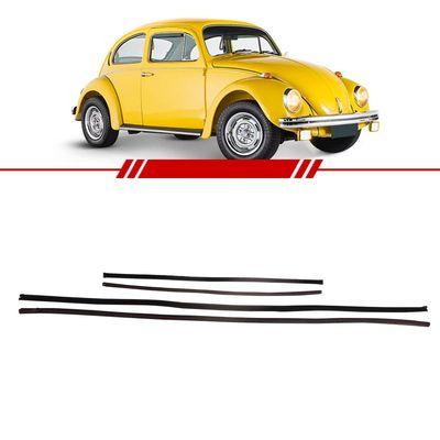 Jogo-Canaleta-de-Vidro-Dianteira-Coluna-Larga-Fusca-1971-1972-1973-1974-1975-1976-1977