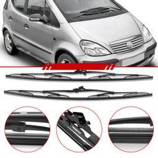 Par-de-Palhetas-Standard-Dianteira-Mercedes-Benz-Classe-a-1999-2000-2001-2002-2003-2004-2005-Limpador-de-Parabrisa-Modelo-Rodo-24-Polegadas