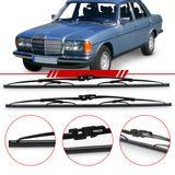Par-de-Palhetas-Steel-Standard-Dianteira-Mercedes-Benz-200t-300td-207d-Mb-180d-W123-Limpador-de-Parabrisa-Modelo-Rodo-20-Polegadas