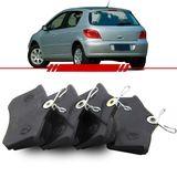 Jogo-Pastilha-de-Freio-Traseira-Peugeot-307-2.0-2007-2008-2009-2010-2011-2012-Sistema-Girling