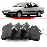 Jogo-Pastilha-de-Freio-Traseira-Peugeot-405-1.9-2.0-1992-1993-1994-1995-1996-1997-Sistema-Girling