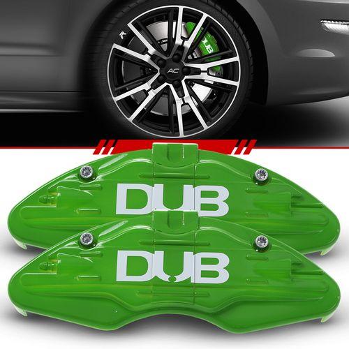 Par-Capa-Para-Pinca-de-Freio-Verde-Universal-Nissan-Sistema-Encaixe