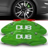Par-Capa-Para-Pinca-de-Freio-Verde-Universal-Audi-Sistema-Encaixe
