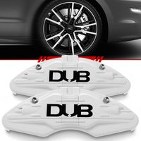 Par-Capa-Para-Pinca-de-Freio-Branca-Universal-Audi-Sistema-Encaixe