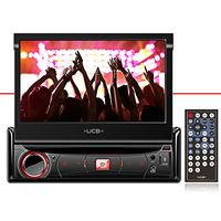 Dvd-Player-1-Din-Ucb-Ucb-Dr270-7-Polegadas-Retratil-Touch-Screen-Usb-Am-Fm-Auxiliar
