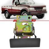 Macaneta-Externa-Tampa-Traseira-Chevrolet-D20-1985-1986-1987-1988-1989-1990-1991-1992-1993-1994-1995-1996-1997-Cacamba-Preta-sem-Chave