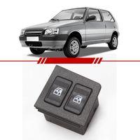 Botao-Interruptor-Duplo-Vidro-Eletrico-Dianteiro-Uno-1985-a-2013-com-Moldura-Lado-Esquerdo-Motorista