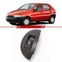 Botao-Interruptor-Simples-Vidro-Eletrico-Dianteiro-Direito-Passageiro-Palio-Young-2001-2002-Led-Ambar-com-Moldura