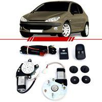Kit-Vidro-Eletrico-Sensorizado-Peugeot-206-1999-2000-2001-2003-2004-2005-2006-2007-2-e-4-Portas-Dianteiro