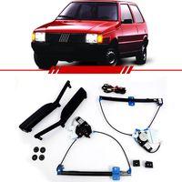 Kit-Vidro-Eletrico-Simples-Uno-1985-1986-1987-1988-1989-1990-1991-1992-1993-1994-1995-1996-1997-1998-1999-2000-2001-2002-2003-2-Portas-Led-Verde