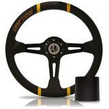 Volante-Esportivo-Easy-Driver-Amarelo-350mm-com-Cubo-Fiat---Modelo-Ft-09