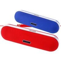 Caixa-de-Som-Portatil-com-Bluetooth-Live-Vermelho