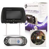 Dvd-Player-Tela-Encosto-de-Cabeca-7-Polegadas-Lcd-com-Game-Cinza