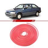 Friso-do-Parachoque-Vermelho-Escort-1993-1994-1995-1996