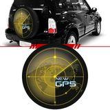 Capa-de-Estepe-New-Gps-Tracker-2007-2008-2009-Aro-16-Polegadas-com-Cadeado