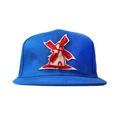 Bone-Giulianno-Fiori-Ralph-Blue-Personalizado-Logo-Moinho-Bege-Strapback-Adulto-Aba-Reta