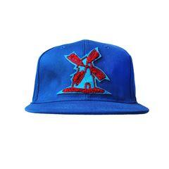 Bone-Giulianno-Fiori-Ralph-Blue-Personalizado-Logo-Moinho-Azul-Strapback-Adulto-Aba-Reta