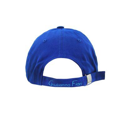 Bone-Giulianno-Fiori-Ralph-Blue-Personalizado-Logo-Moinho-Marrom-Strapback-Adulto-Aba-Reta