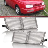 Aplique Defletor do Parachoque Golf 1995 a 1998 Gl Glx Gti Mexicano Grande Lado Esquerdo Motorista