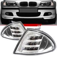 Par-Lanterna-Dianteira-Pisca-Seta-Daylight-BMW-Serie-3-1998-1999-2000-2001-LED-Moldura-Cromada-ArsenalCar-01