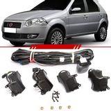 Kit-Trava-Eletrica-Completo-Mono-Serventia-Palio-2006-2007-2008-2009-2010-2011-2012-Siena-Uno-4-Portas