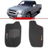 Tapete-Carpete-Personalizado-Grafite-S10-1996-a-2012-Logo-Chevrolet-Bordado-2-Lados-Dianteiro-Cabine-Simples