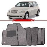 -Tapete-Carpete-Personalizado-Grafite-Pt-Cruiser-2001-2002-2003-2004-2005-2006-2007-2008-2009-2010-2011-Logo-Chrysler-Bordado-2-Lados-Dianteiro