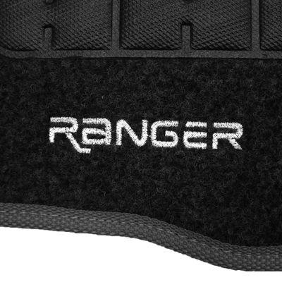 Tapete-Carpete-Grafite-Ranger-1993-a-2012-Logo-Bordado-2-Lados-Dianteiro-Cabine-Simples