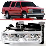 Par-Farol-Daylight-Chevrolet-Silverado-Grand-Blazer-97-a-03-Mascara-Cromada-LED-ARSENALCAR-1