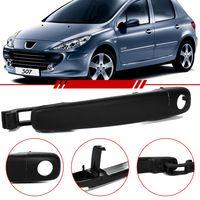 Macaneta-Externa-Porta-Dianteira-Lado-Esquerdo-Peugeot-307-2002-a-2011-Sedan-Sw-com-Furo-sem-Chave-Preto-4-Portas