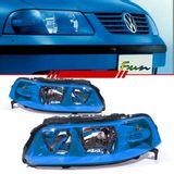 Farol-Volkswagen-Gol-Parati-Saveiro-G3-1999-2000-2001-2002-2003-2004-2005-Mascara-Azul-Fun