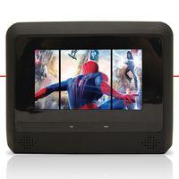 Par-Dvd-Player-Tela-Para-Encosto-de-Cabeca-7--Lcd-com-Game-Usb-Sd-com-Transmissor-Fm-Touchcreen-Preto