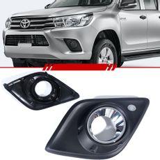Par-Moldura-Grade-do-Milha-Toyota-Hilux-2016-a-2017-com-Furo