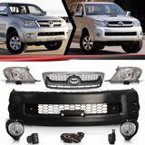 Combo-Toyota-Hilux-Srv-Modelo-2005-2006-2007-2008-Para-2009-2010-2011-Kit-Transformacao-com-Kit-Farol-de-Milha