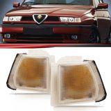 Lanterna-Dianteira-Pisca-Seta-Alfa-Romeo-155-1992-1993-1994-1995-Cristal