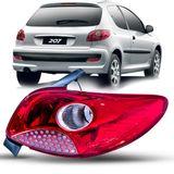 Lanterna-Traseira-Peugeot-207-Hatch-2008-a-2014-Vermelha