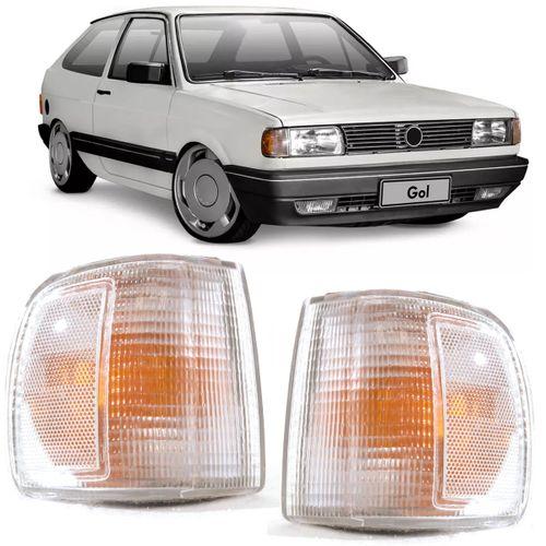 Lanterna Dianteira Pisca Seta Gol Parati Saveiro Voyage Quadrado G1 1991 a  1994 Cristal Modelo Arteb - Arsenal Car 79dee34756