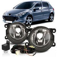 Kit-Farol-de-Milha-Auxiliar-Peugeot-207-2007-2008-2009-2010-307-Hoggar-Botao-Universal