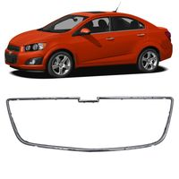 Moldura-Inferior-Da-Grade-Chevrolet-Sonic-2012-2013-2014-Cromada