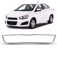 Moldura-Superior-Da-Grade-Chevrolet-Sonic-2012-2013-2014-Cromada