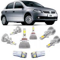 Kit-Lampadas-Super-Led-HeadLight-6000k-com-reator-Volkswagen-Gol-2009-2010-2011-2012-Saveiro-Voyage-G5-com-Lampada-Pingo